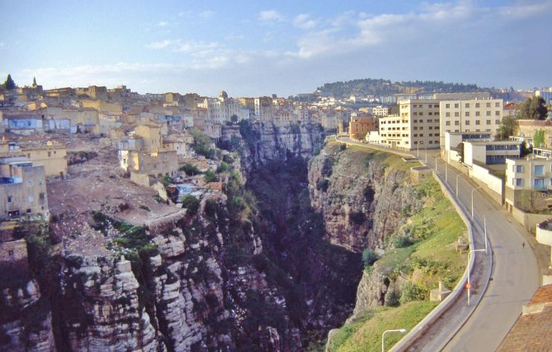Constantine is one of the top destinations In Algeria, as this picture clearly demonstrates...