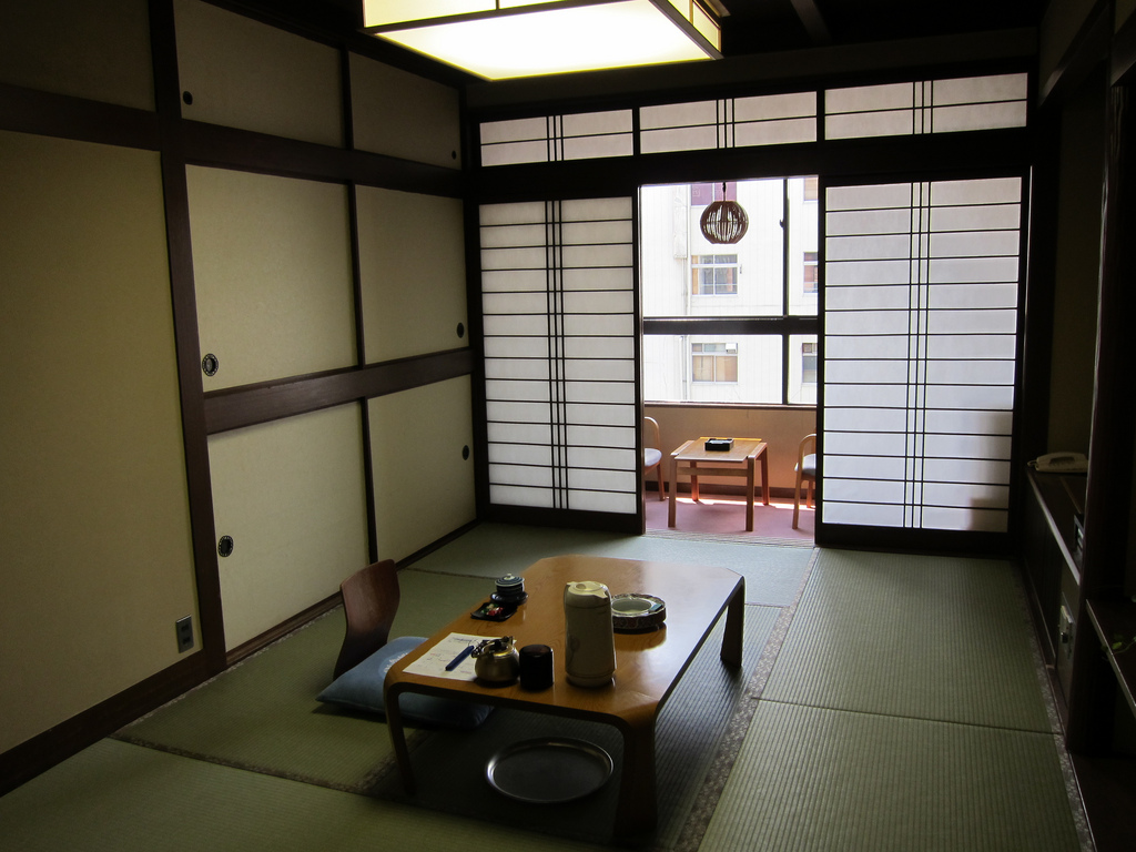 Ryokans in Japan have become popular as luxury boltholes of late ... photo by CC user hslo on Flickr