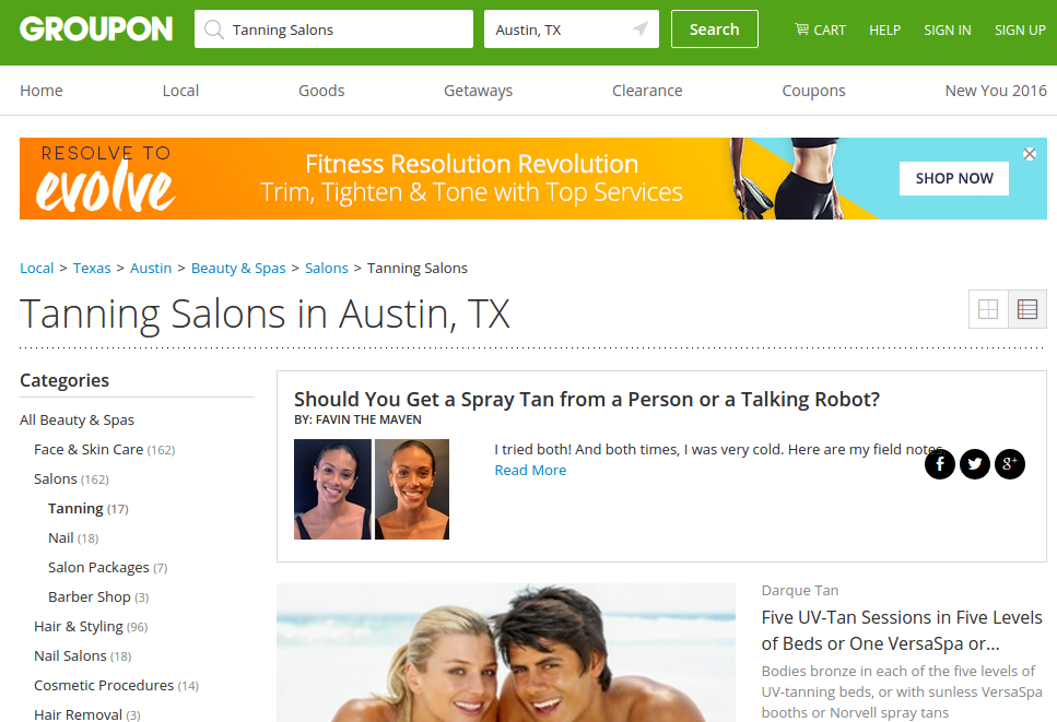 Check out these great wellness discounts on Groupon